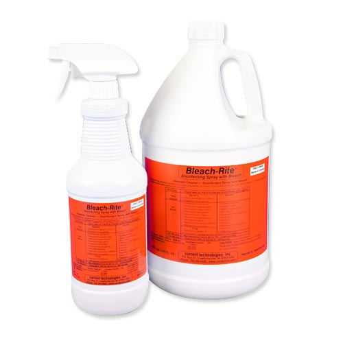 Bleach-rite Disinfecting Spray from Current Technologies
