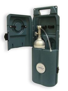 Bump Check Station for One Gas Cylinder