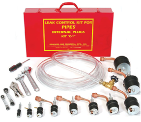 "Series ""C-1"" Pipe Plugger Kit from Edwards and Cromwell"