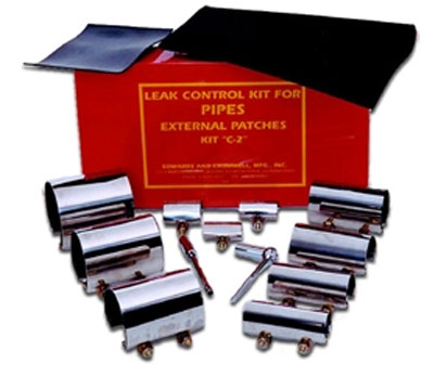 "Series ""C-2"" External Pipe Leak Control Kit from Edwards and Cromwell"
