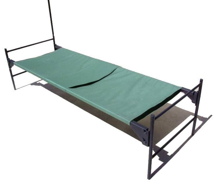 Cholera Bed w/ I.V. Pole from Blantex