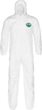 MicroMAX NS coveralls w/ Hood and Elastic Wrists and Ankles from Lakeland Industries