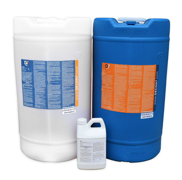 D7 Multi-Use Disinfectant / Decontaminant, 30 Gallon Kit from Decon7 Systems