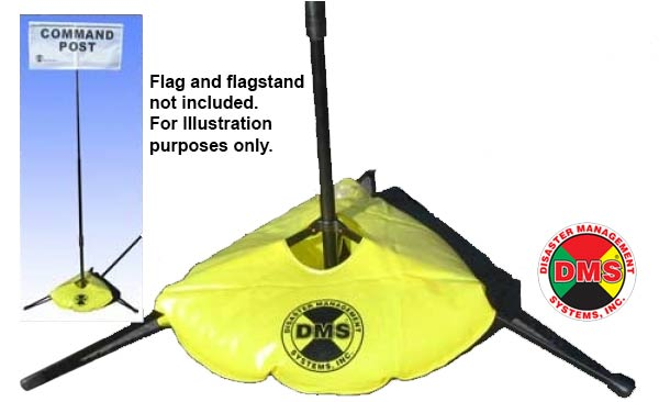 Flag Stand Water Weight Bag from Disaster Management Systems