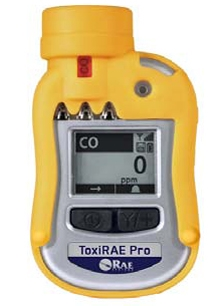 ToxiRAE Pro Personal Monitor for Carbon Dioxide (CO2) from RAE Systems by Honeywell