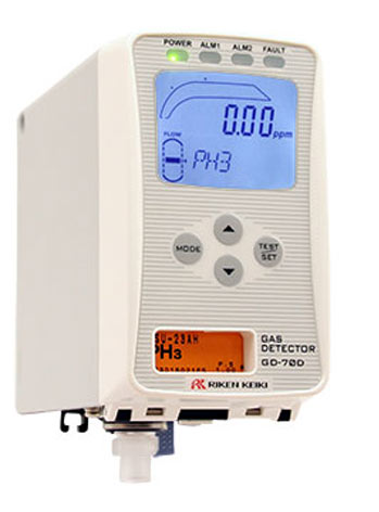 GD-70D Intelligent Gas Detector from RKI Instruments