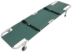 Easy Fold Wheeled Stretcher from Junkin Safety