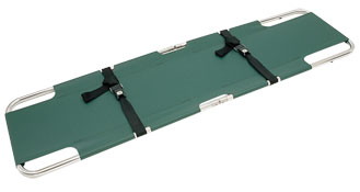 Easy Fold Plain Stretcher from Junkin Safety