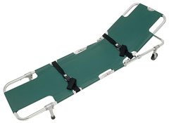 Easy Fold Wheeled Stretcher w/ Adjustable Backrest from Junkin Safety