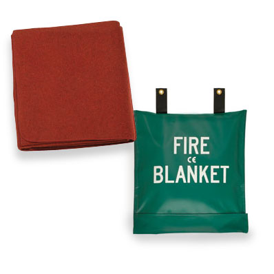Fire Blanket & Bag from Junkin Safety