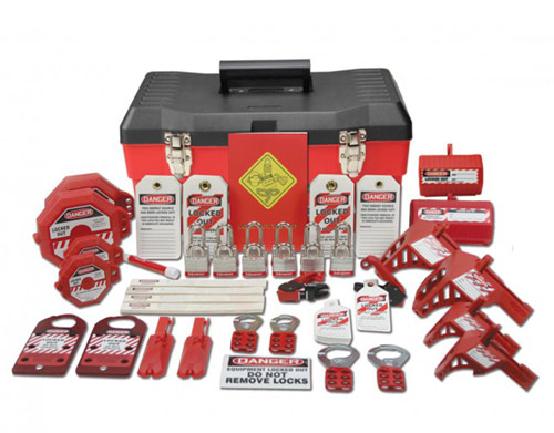 Deluxe Plus Lockout Kit from Accuform Signs