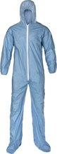 Pyrolon Plus 2 coverall w/ Attached Hood, Elastic Wrists, Boots 7414S, 7414M, 7414L, 7414XL