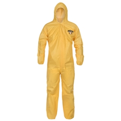 ChemMax 1 Coverall w/ Attached Hood and Elastic Wrists and Ankles from Lakeland Industries