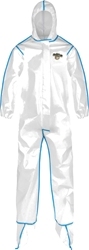 ChemMax 2 Coverall w/ Attached Hood, Boots and Elastic Wrists from Lakeland Industries