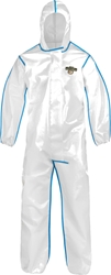 ChemMax 2  Coverall w/ Attached Hood, Elastic Wrists and Ankles from Lakeland Industries