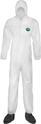 MicroMAX NS Coveralls w/ Hood and Boots from Lakeland Industries