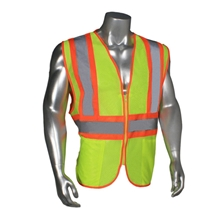 Two-Tone Mesh Safety Vest, Class 2