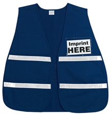 "Non-ANSI Incident Command Vest w/ 1"" Reflective Stripes"