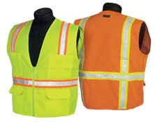 Economy Series Multi-Pocket Polyester Surveyors Vest