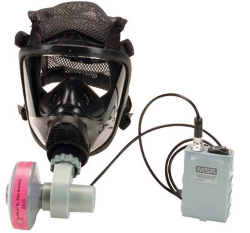 OptimAir Mask-Mounted PAPR from MSA
