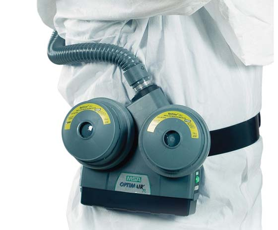 OptimAir TL Powered Air-Purifying Respirator (PAPR) from MSA