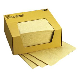 Chemical Sorbent Pad, 4 Boxes / Case, Environmental Safety Product from 3M
