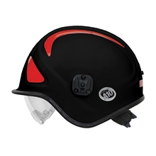 A10 Ambulance & Paramedic Rescue Helmet w/ Retractable Eye Protector from Pacific Helmet