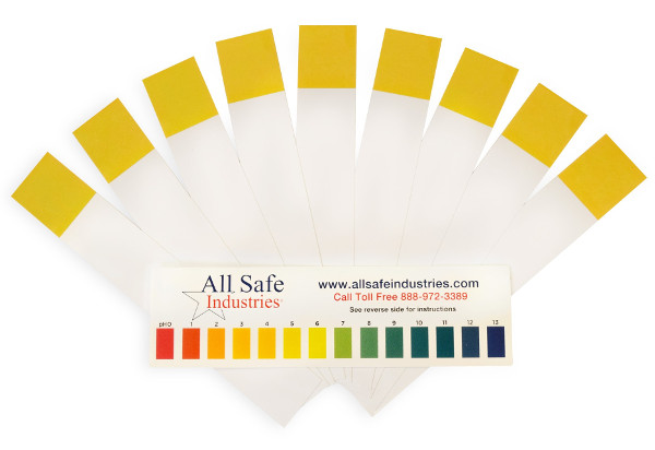 pH Spill Stik Wide Strips 10-3000-31