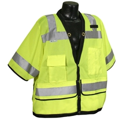Heavy Duty Surveyor Safety Vest, Class 3  SV59-3ZGD, SV59-3ZOD