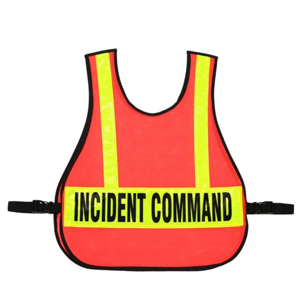 Incident Command Vest w/ Reflective Strips from R&B Fabrications