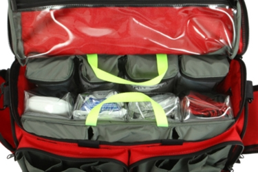 """Z"" Pak Max Large Trauma Bag Supply Insert from R&B Fabrications"