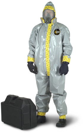 Zytron 200 Encapsulating Suit Level B w/ Sealed/Taped Seams