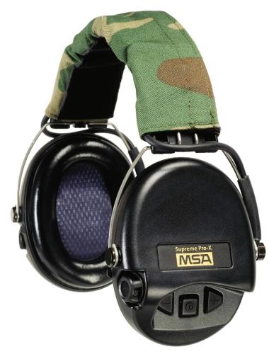 Supreme Pro-X Muff, Headband Model from MSA