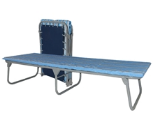 XB-4 Steel Folding Cot w/ Mattress XB-4