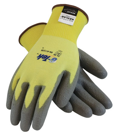 G-Tek Kevlar/Lycra Glove w/ Polyurethane Coating from PIP