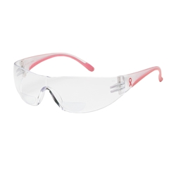 Lady Eva Womens Reader Pink Safety Glasses from PIP