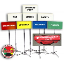 NIMS / ICS Field Incident Command Flag Kit