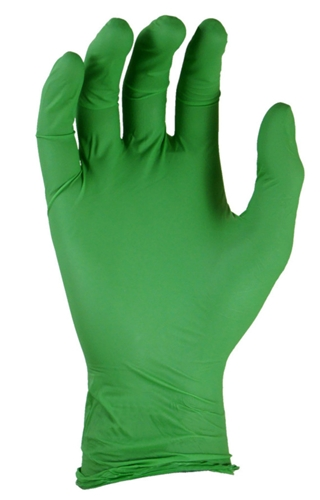 GREEN-DEX Biodegradable Nitrile Disposable Gloves from Showa-Best Glove
