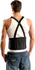 The Mustang Back Support w/ Suspenders from Occunomix