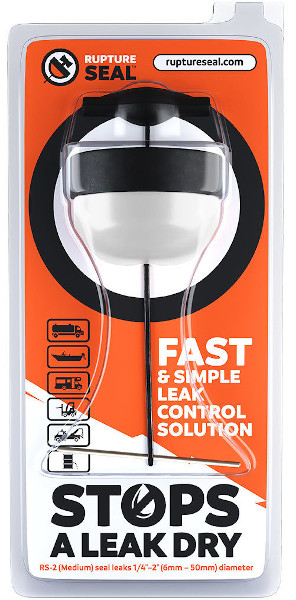 RuptureSeal Quick Response Spill Seal Practice Unit from RuptureSeal
