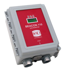 Beacon 110 Single Channel Wall Mount Controller from RKI Instruments