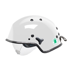 WR7H Water Rescue Helmet w/ Retractable Eye Protector
