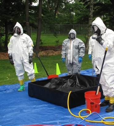 hazmat decon pool